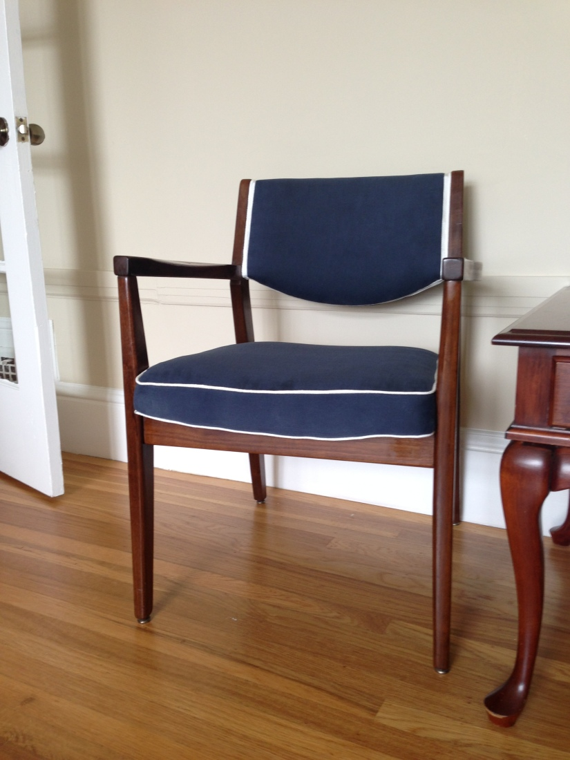 Craigslist like a bandit! Chair makeover