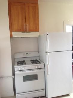 Awkward kitchen space