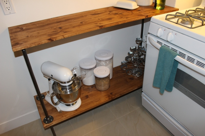 Shelf wood