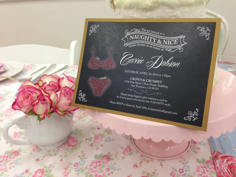 Carrie's Tea Party Bridal Shower