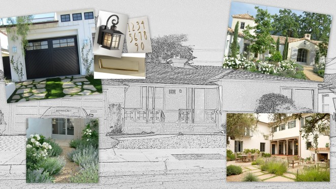 House Exterior Mood Board